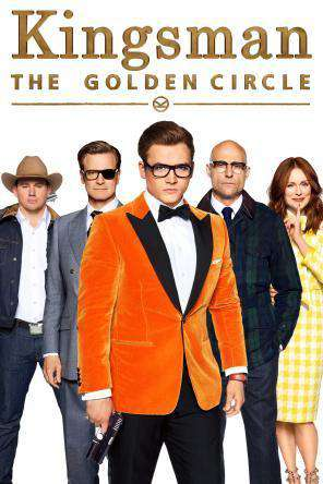 Kingsman: The Golden Circle, Movie on DVD, Action