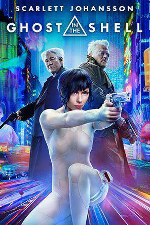 Ghost In The Shell (2017), Movie on DVD, Action Movies, Sci-Fi & Fantasy