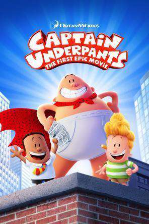 Captain Underpants: The First Epic Movie, Movie on DVD, Family