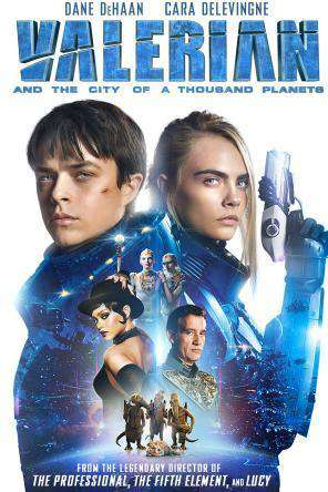 Valerian and the City of a Thousand Planets, Movie on DVD, Sci-Fi & Fantasy Movies, Action