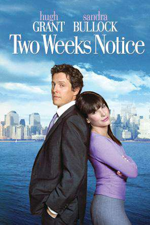 Two Weeks Notice, On Demand Movie, Comedy DigitalMovies, Romance