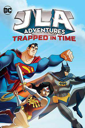 JLA Adventures: Trapped In Time, On Demand Movie, Action DigitalMovies, Adventure DigitalMovies, Animated