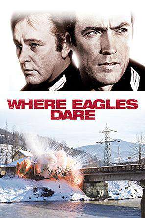 Where Eagles Dare, On Demand Movie, Action DigitalMovies, Adventure