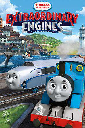 Thomas & Friends: Extraordinary Engines, On Demand Movie, Family