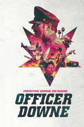 Officer Downe, Movie on DVD, Action