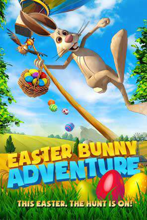 Easter Bunny Adventure, Movie on DVD, Family