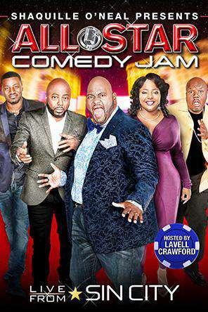 Shaquille O'Neal Presents: All Star Comedy Jam - Live From Sin City, Movie on DVD, Comedy Movies, Special Interest