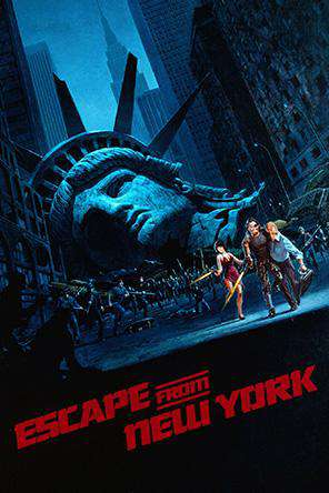 Escape From New York, On Demand Movie, Action DigitalMovies, Sci-Fi & Fantasy DigitalMovies, Sci-Fi