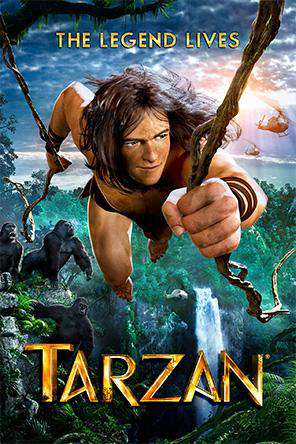 Tarzan, On Demand Movie, Animated DigitalMovies, Drama DigitalMovies, Family
