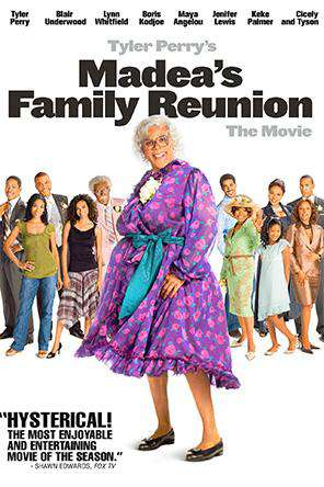 Tyler Perry's Madea's Family Reunion, On Demand Movie, Comedy DigitalMovies, Drama DigitalMovies, Romance