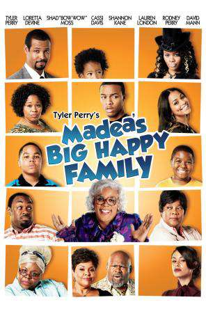 Tyler Perry's Madea's Big Happy Family, On Demand Movie, Comedy DigitalMovies, Drama