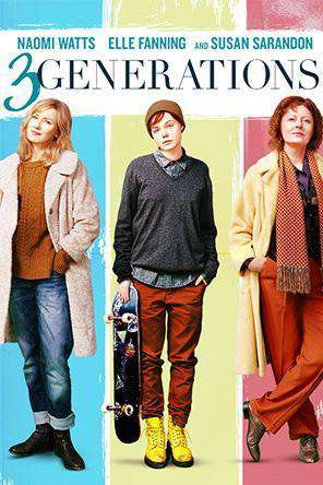 Three Generations, Movie on DVD, Drama