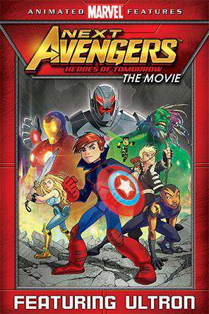 Next Avengers: Heroes Of Tomorrow, On Demand Movie, Animated DigitalMovies, Family