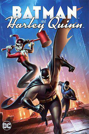DCU: Batman and Harley Quinn, Movie on DVD, Action Movies, Animated
