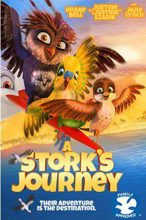 A Stork's Journey, On Demand Movie, Animated DigitalMovies, Family