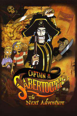 Captain Sabertooth, On Demand Movie, Animated DigitalMovies, Kids