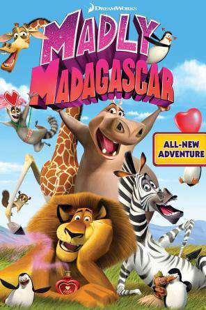 Madly Madagascar Digital Deluxe Edition, On Demand Movie, Family DigitalMovies, Kids