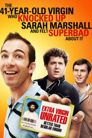 The 41 Year Old Virgin Who Knocked Up Sarah Marshall and Felt Superbad About It, On Demand Movie, Comedy