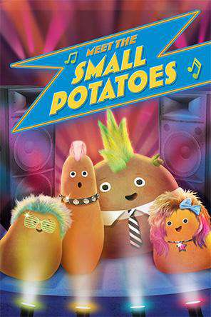 Meet The Small Potatoes, On Demand Movie, Animated DigitalMovies, Family