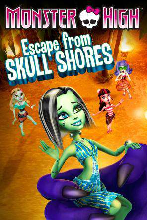 Monster High: Escape From Skull Shores, On Demand Movie, Animated DigitalMovies, Family