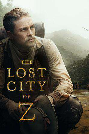 The Lost City of Z, Movie on DVD, Action Movies, Adventure
