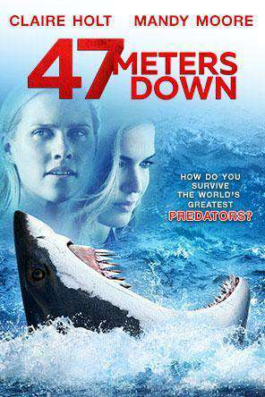 47 Meters Down, Movie on DVD, Horror Movies, Thriller & Suspense