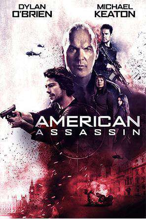 American Assassin, Movie on DVD, Thriller & Suspense Movies, Action