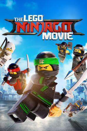 The Lego Ninjago Movie, Movie on DVD, Family Movies, Kids