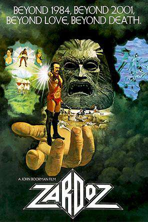 Zardoz, On Demand Movie, Sci-Fi & Fantasy DigitalMovies, Sci-Fi