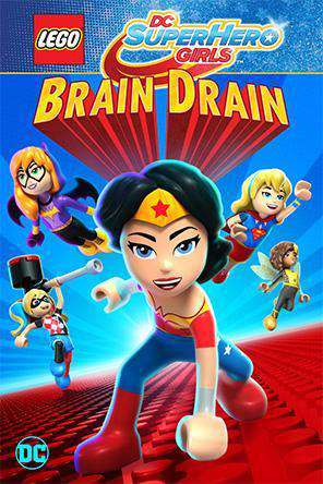 LEGO DC Super Hero Girls: Brain Drain, Movie on DVD, Family Movies, Kids