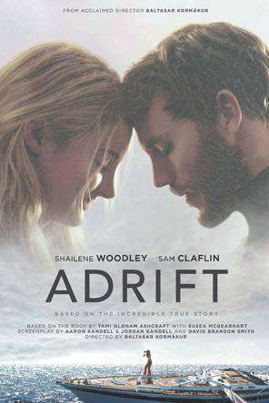 Adrift (2018), Movie on DVD, Drama Movies, Action Movies, Romance