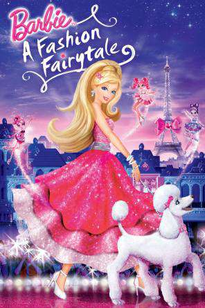 Barbie A Fashion Fairytale, On Demand Movie, Animated DigitalMovies, Family