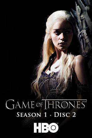 Game of Thrones S1 - Disc 2 (Episodes 8-10), Movie on DVD, Action Movies, Drama Movies, Sci-Fi & Fantasy