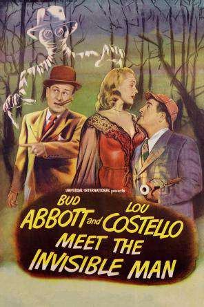 Abbott And Costello Meet The Invisible Man, On Demand Movie, Comedy