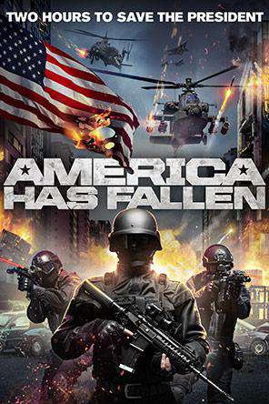 America Has Fallen, Movie on DVD, Action