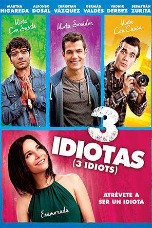 3 Idiots (2017), Movie on DVD, Comedy