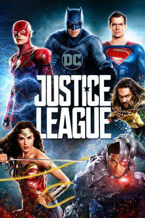 Justice League, Movie on DVD, Action Movies, Adventure