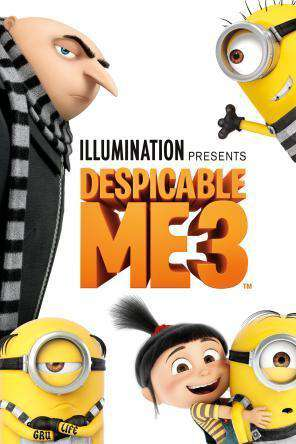 Image result for despicable me 3 dvd