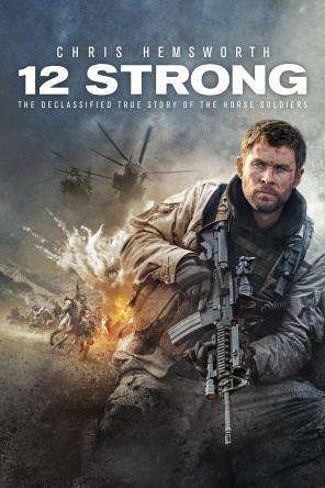 12 Strong, Movie on DVD, Action
