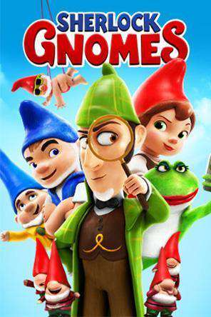 Sherlock Gnomes, Movie on DVD, Family