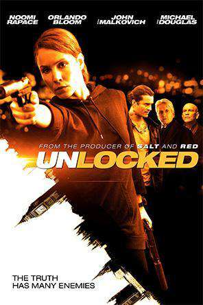 Unlocked, Movie on DVD, Action Movies, Thriller & Suspense