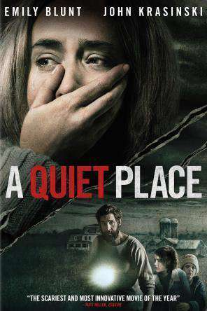 A Quiet Place, Movie on DVD, Horror