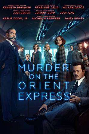 Murder On The Orient Express (2017), On Demand Movie, Drama