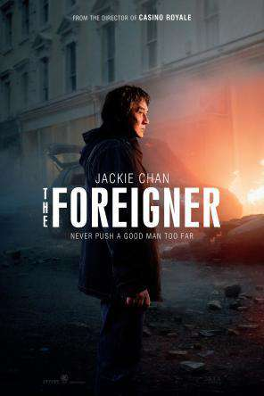 The Foreigner, Movie on DVD, Action