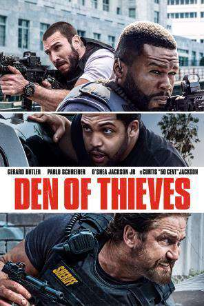 Den of Thieves, Movie on DVD, Action