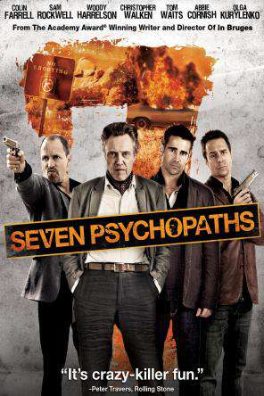 Seven Psychopaths, On Demand Movie, Comedy