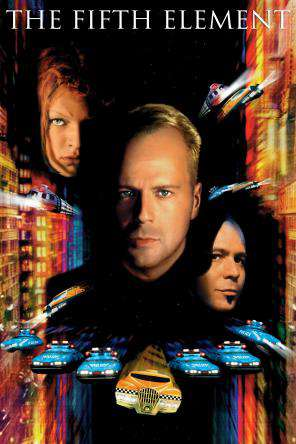The Fifth Element, On Demand Movie, Action DigitalMovies, Adventure DigitalMovies, Sci-Fi & Fantasy DigitalMovies, Sci-Fi