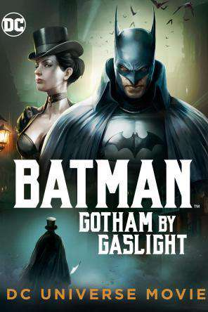 DCU Batman: Gotham by Gaslight, Movie on DVD, Action Movies, Adventure Movies, Animated