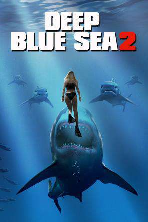 Deep Blue Sea 2, Movie on DVD, Action