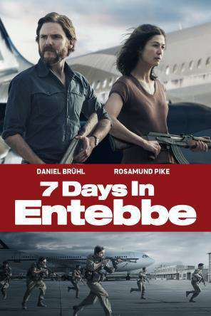 7 Days in Entebbe, Movie on DVD, Action